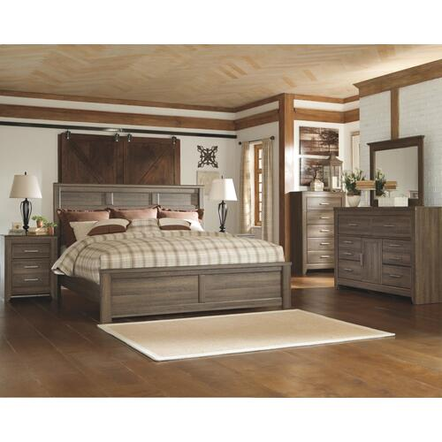 Juararo King Panel Bed