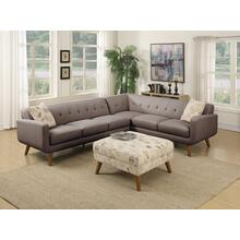 Emerald Home Remix Rsf Corner Sofa W/1 Accent Pillow Charcoal U3789m-12-13 (copy)