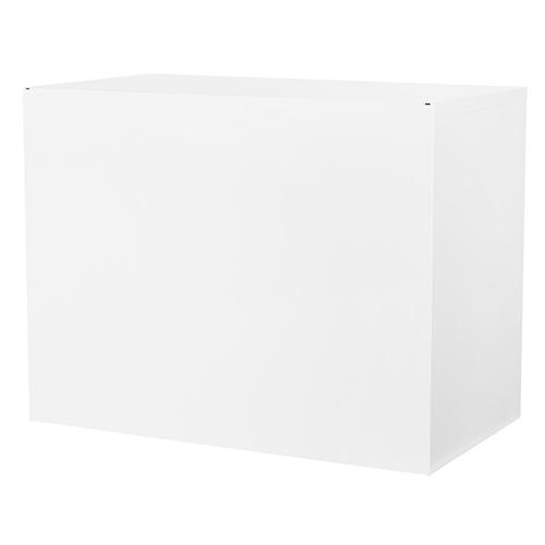 """36"""" Wide 2 Drawer Lateral File With Core-removeable Lock & Adjustable Glides(white)"""