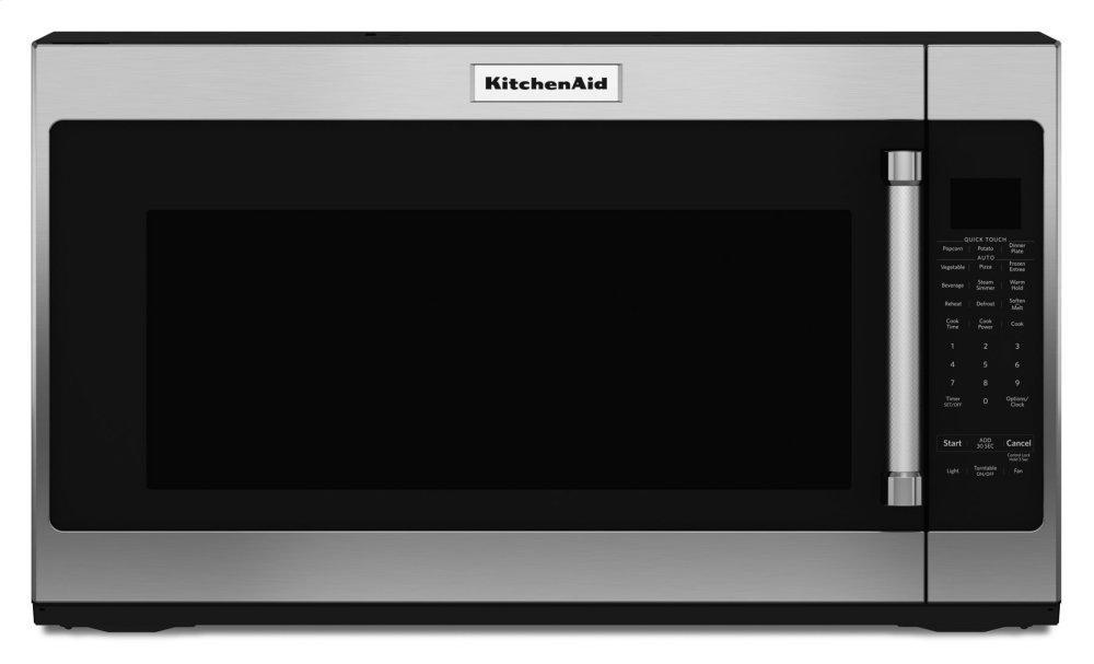 "KitchenAid30"" 1000-Watt Microwave Hood Combination - Stainless Steel"