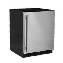View Product - 24-In Low Profile Built-In Refrigerator With Maxstore Bin And Door Storage with Door Style - Stainless Steel, Door Swing - Right