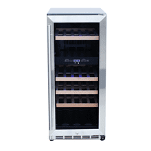 """See Details - Rcs 15"""" Wine Cooler (dual-zone)"""