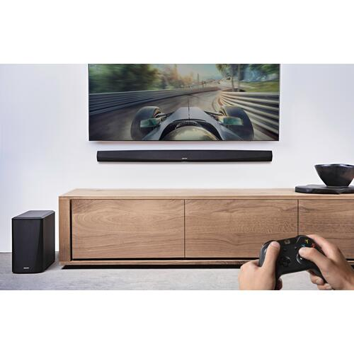 Sound Bar and Wireless Subwoofer with HEOS Built-in