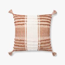 P4121 ED Terracotta / White Pillow