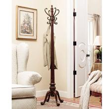 "Barrier Reef ""Warm Nut Brown"" Coat Rack - overpacked"