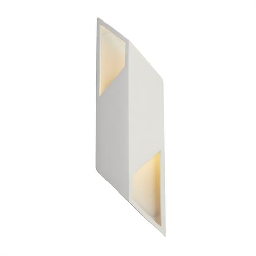 Large ADA Rhomboid LED Wall Sconce
