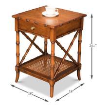 Far East Lamp Table
