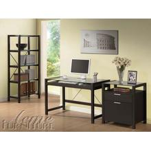 Loakin Wenge Finish Desk Set