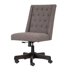 Home Office Swivel Desk Chair grey