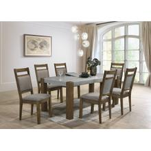 See Details - Costabella 7 PC Dining Set, Table with 6 chairs