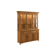 Mission Hutch 3 Door