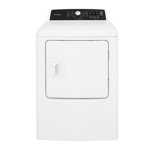 SCRATCH & DENT MODEL   Frigidaire 6.7 Cu. Ft. Free Standing Gas Dryer
