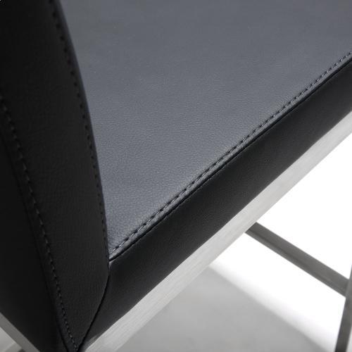 Tov Furniture - Parma Black Steel Counter Stool (Set of 2)