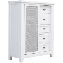 Brookfield Vintage White Chest