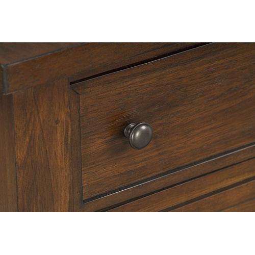 Standard Furniture - Kyle Dark 2-Drawer Server, Brown