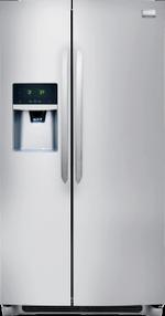 Frigidaire FGHS2655PF Refrigerators Side By Side Freestanding Refrigerator Frigidaire Gallery 25.6 Cu. Ft. Side-by-Side Refrigerator