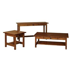 Scottsdale Open Sofa Table