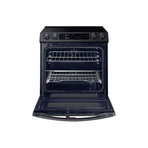 6.3 cu.ft. Electric Range with Flex Duo™ and Air Fry in Black Stainless Steel