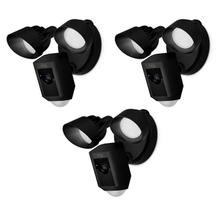 3-Pack Floodlight Cams - Black