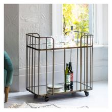 GA Verna Drinks Trolley Bronze