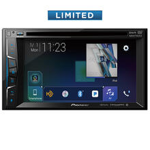 "Multimedia DVD Receiver with 6.2"" WVGA Display, Built-in Bluetooth®, HD Radio Tuner, SiriusXM-Ready and AppRadio Mode +, Remote Control Included and two camera inputs"