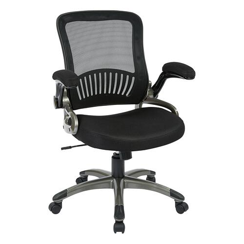 Screen Back and Mesh Seat Managers Chair