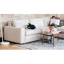 Reva 2-Piece Sectional Sleeper Sofa With Storage Chaise