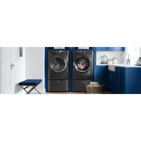 Electrolux - Front Load Perfect Steam Electric Dryer with Instant Refresh and 8 cycles - 8.0 Cu. Ft.