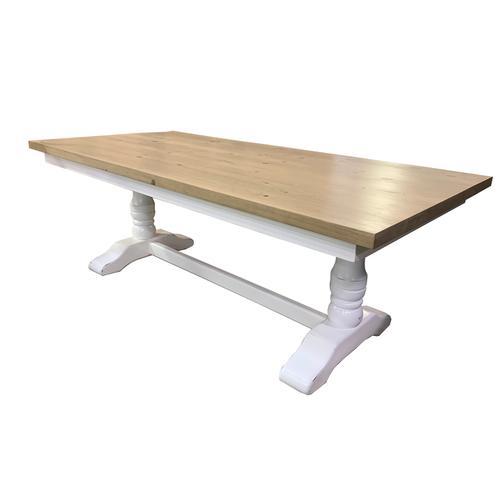 Gallery - Oxford Pedestal Trestle Table