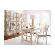Tower Suite - Pearl Finish Writing Desk