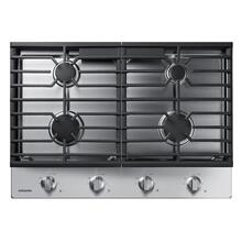 """See Details - 30"""" Gas Cooktop in Stainless Steel"""
