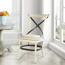 Alesi Dining Chair 2-pack White Finish