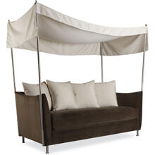U101-11 Oleander Outdoor Apartment Sofa W/canopy