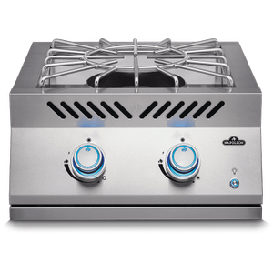 Napoleon GrillsBuilt-in 700 Series Power Burner with Stainless Steel Cover , Stainless Steel , Natural Gas