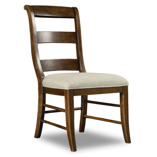 Archivist Ladderback Side Chair - 2 per carton/price ea