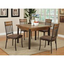 5 PC Sq. Dining Set