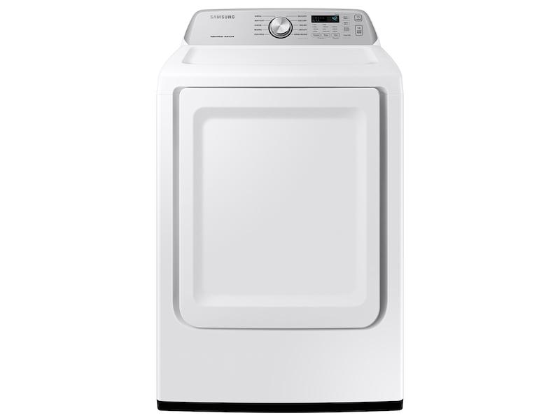 Samsung7.4 Cu. Ft. Gas Dryer With Sensor Dry In White