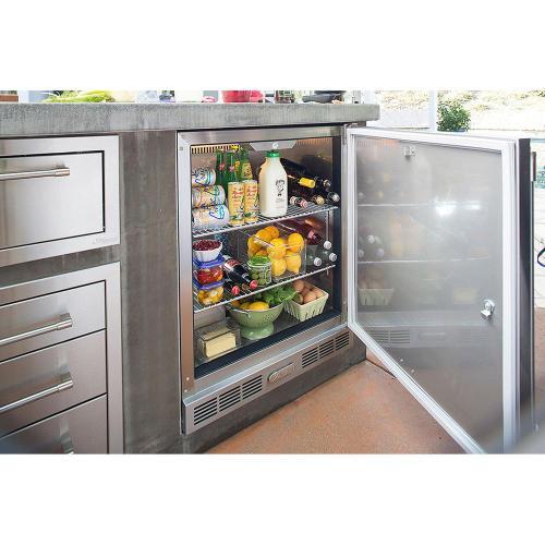 Alfresco - Single Door Refrigerator