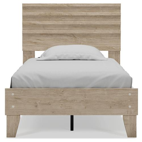 Oliah Twin Panel Platform Bed