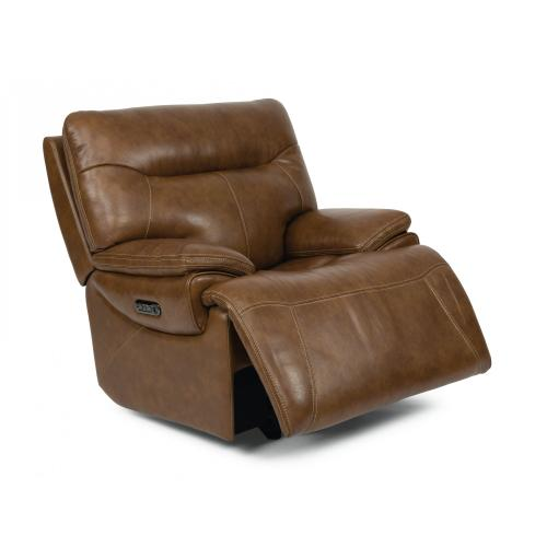 Product Image - Saddle Power Gliding Recliner with Power Headrest