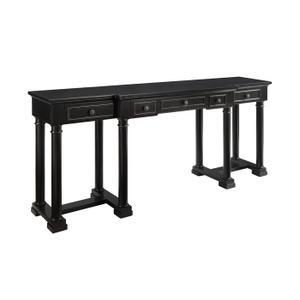 Coast To Coast Imports - 3 Drw Console Desk
