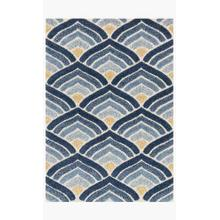 View Product - EN-18 Ivory / Blue Rug