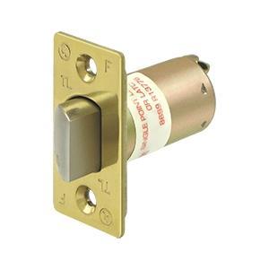 "GR1 Reg. Latch Pass/Priv, 2-3/4"" - Polished Brass"