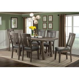 Cash Collection 7pc. Dining in Distressed Espresso