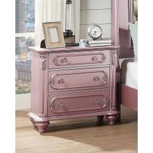 Amika Night Stand, Light-pink