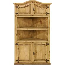 Corner Cabinet w/ 4 Doors & 1 Shelf
