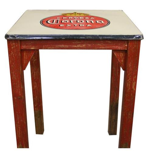 Antique Metal Top Table DISCONTINUED
