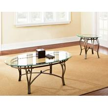 Madrid 3-Piece Occasional Set (Cocktail Table & 2 End Tables)