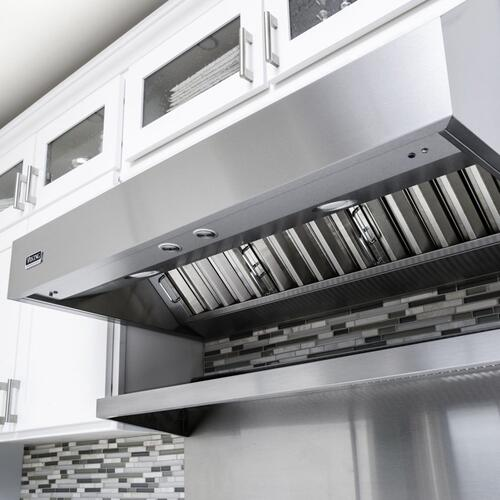 "36"" Wide 12"" High Wall Hood + Ventilator - VWH"