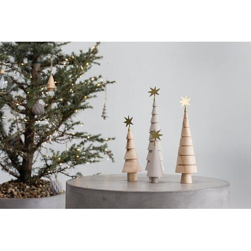 "2""x 6.5"" Grey Spur Tree SALE (Figurine Option)"